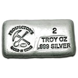 2 oz Silver Bar