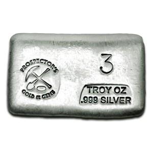 3 oz Silver Bar