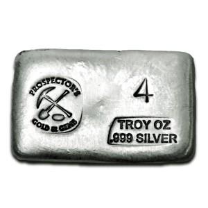 4 oz Silver Bar