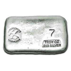 7 oz Silver Bar