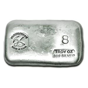 8 oz Silver Bar