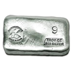 9 oz Silver Bar
