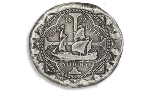 1622 Atocha Silver Cob Coin