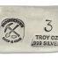 3 Ounce Prospectors Hand Poured Silver Bar