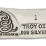 1 Ounce Prospectors Dont Tread on Me Hand Poured Silver Bar
