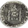 1622 Atocha Silver Cob Coin Back