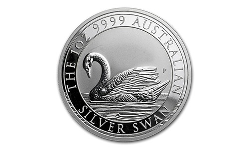 2017 Perth Mint 1oz Silver Swan