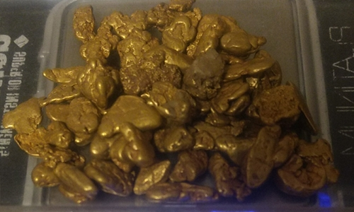 1 to 5 gram gold Nuggets